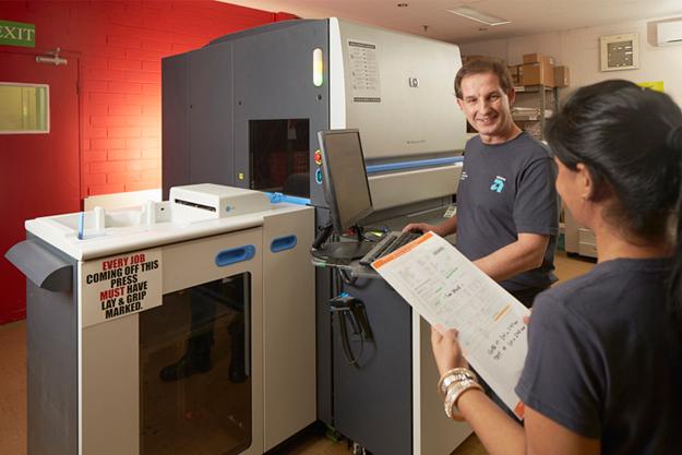 Advance Press uses HP indigo presses