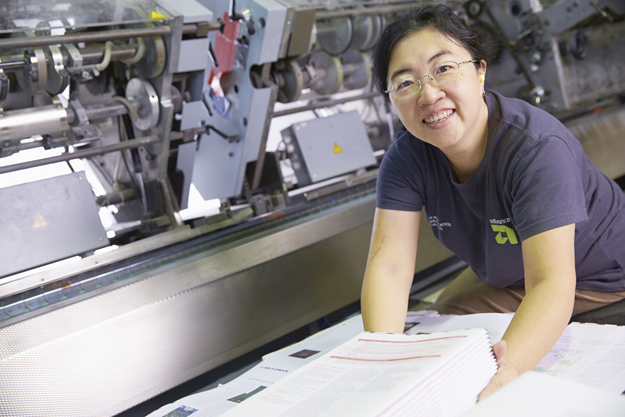Online procurement at Advance Press enables easy ordering of business print essentials