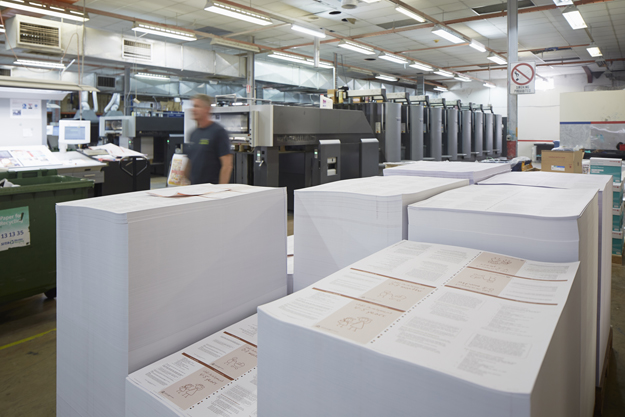 Advance Press offset print specialists