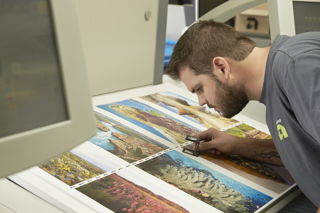 Advance pre-press services works to achieve the highest quality print outcomes