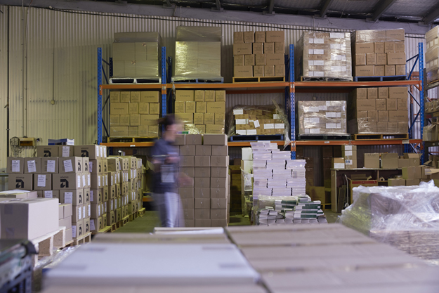Advance warehousing solutions work hand-in-hand with our online ordering system